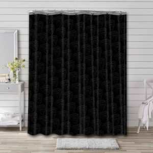 D.C. United Logo Pattern Shower Curtain Waterproof Polyester