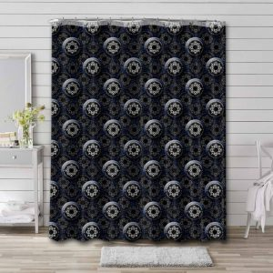 CF Montreal Pattern Shower Curtain Waterproof Polyester