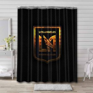 Los Angeles FC Shower Curtain