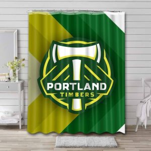 Portland Timbers Soccer Shower Curtain Waterproof Polyester
