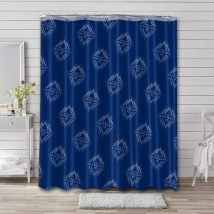 Vancouver Whitecaps FC Pattern Shower Curtain Waterproof Polyester