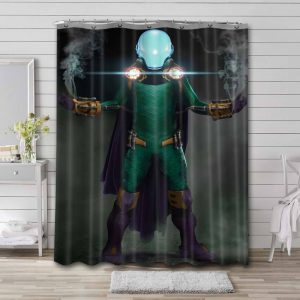 Mysterio Arts Shower Curtain Waterproof Polyester