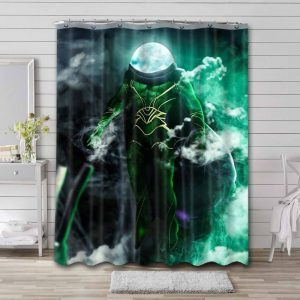 Mysterio Shower Curtain Waterproof Polyester