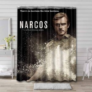 Narcos Shower Curtain Waterproof Polyester