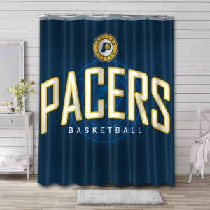 Indiana Pacers Shower Curtain Bathroom Decoration