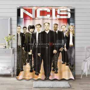 NCIS Shower Curtain Waterproof Polyester