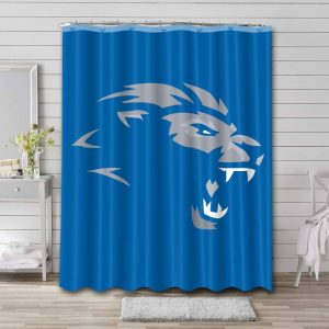 Detroit Lions Shower Curtain Waterproof Polyester