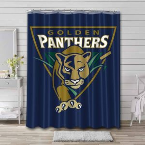 Florida Panthers Shower Curtain Waterproof Polyester