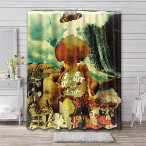 Oasis Dig Out Your Soul Waterproof Shower Curtain Bathroom