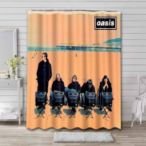 Oasis Roll With It Shower Curtain Bathroom Waterproof