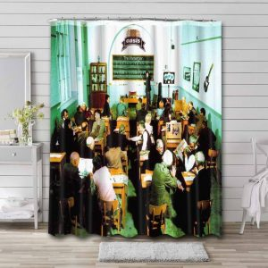 Oasis The Masterplan Shower Curtain Waterproof Polyester