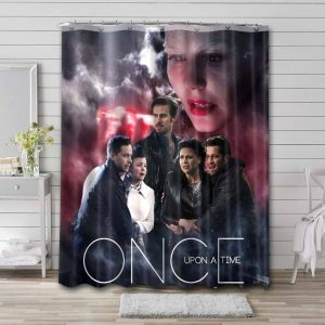 Once Upon a Time TV Series Shower Curtain Bathroom Waterproof