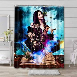 Once Upon a Time TV Series Shower Curtain Waterproof Polyester