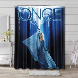 Once Upon a Time Waterproof Bathroom Shower Curtain