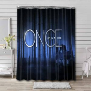 Once Upon a Time TV Shows Bathroom Shower Curtain Waterproof