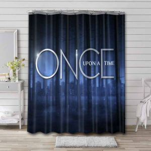 Once Upon a Time TV Shows Waterproof Shower Curtain Bathroom