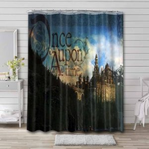 Once Upon a Time TV Shows Waterproof Bathroom Shower Curtain