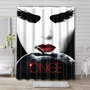 Once Upon a Time Bathroom Curtain Shower Waterproof