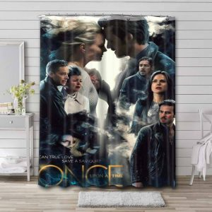 Once Upon a Time Shower Curtain Bathroom Decoration