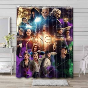 Once Upon a Time Shower Curtain Waterproof Polyester