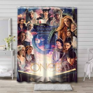 Once Upon a Time TV Series Bathroom Shower Curtain Waterproof