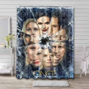 Once Upon a Time TV Series Waterproof Shower Curtain Bathroom