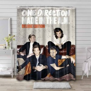 One Direction Made In The AM Shower Curtain Waterproof Polyester