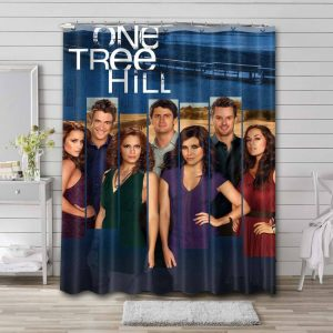 One Tree Hill TV Series Shower Curtain Waterproof Polyester