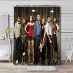 One Tree Hill Shower Curtain Waterproof Polyester