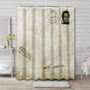 Opeth Watershed Shower Curtain Waterproof Polyester