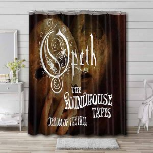 Opeth The Roundhouse Tapes Bathroom Shower Curtain Waterproof
