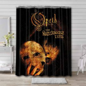 Opeth The Roundhouse Tapes Waterproof Shower Curtain Bathroom
