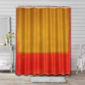Mark Rothko Ochre and Red on Red Waterproof Shower Curtain Bathroom