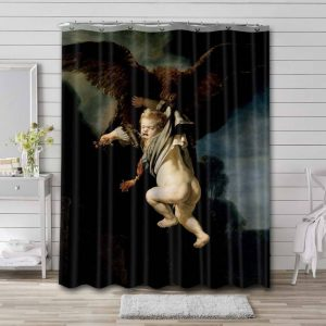 Rembrandt The Abduction of Ganymede Waterproof Shower Curtain Bathroom
