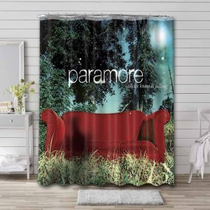 Paramore All We Know Is Falling Shower Curtain Waterproof Polyester
