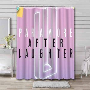 Paramore After Laughter Bathroom Shower Curtain Waterproof