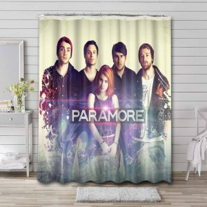 Paramore Shower Curtain Waterproof Polyester