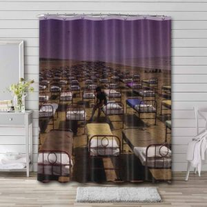 Pink Floyd A Momentary Lapse of Reason Waterproof Curtain Bathroom Shower