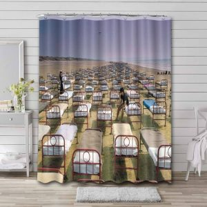 Pink Floyd A Momentary Lapse of Reason Shower Curtain Bathroom Waterproof