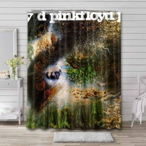Pink Floyd A Saucerful of Secrets Shower Curtain Waterproof Polyester