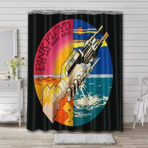Pink Floyd Wish You Were Here Experience  Shower Curtain Waterproof Polyester