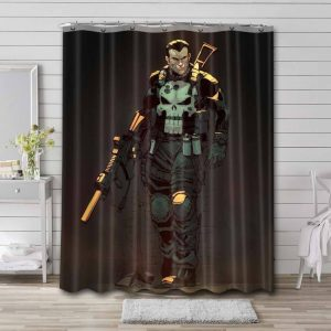 The Punisher Series Shower Curtain Waterproof Polyester