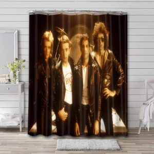 Queen The Game Shower Curtain Bathroom Decoration