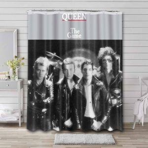 Queen The Game Shower Curtain Waterproof Polyester