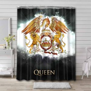Queen A Night at the Opera Bathroom Shower Curtain Waterproof