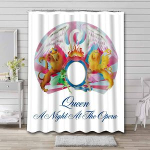 Queen A Night at the Opera Waterproof Shower Curtain Bathroom