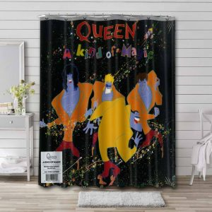 Queen A Kind of Magic Shower Curtain Waterproof Polyester