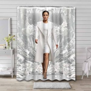 Queen of the South Bathroom Curtain Shower Waterproof