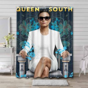Queen of the South TV Series Waterproof Curtain Bathroom Shower