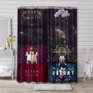 Queen of the South TV Series Shower Curtain Bathroom Waterproof